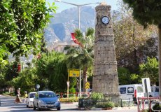 В Аланье будут реставрировать символ района Махмутлар – башню с часами