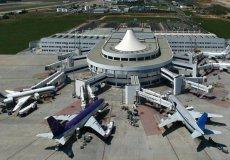 В июле аэропорт Антальи принял 13 тыс. бортов