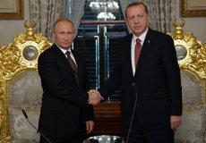 Итоги долгожданной встречи Владимира Путина и Реджепа Тайипа Эрдогана.