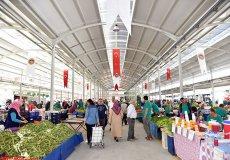 В Аланье открылся новый рыбный и продовольственный рынок