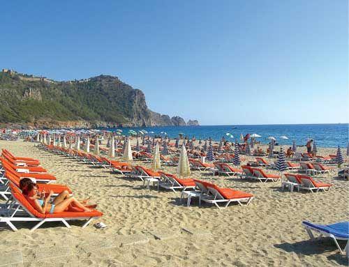 Фото с турецкого пляжа
