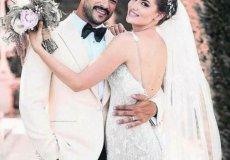 Поженилась самая красивая пара Турции