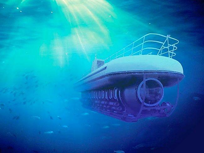 подводная лодка мир людей
