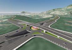 Строительство новой объездной дороги Алания-Газипаша.