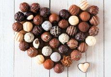 Фестиваль шоколада на день святого Валентина