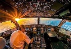 Турецкие авиалинии предлагают смотреть на небо глазами пилотов.