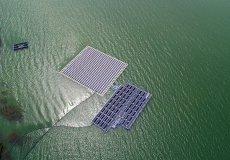 В Стамбуле заработала первая плавучая солнечная электростанция