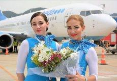 Первый прямой рейс из России приземлился в аэропорт Аланьи.