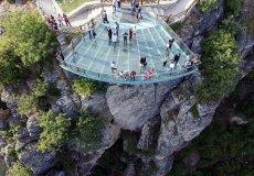Уникальная смотровая площадка в турецком Сафранболу привлекает туристов