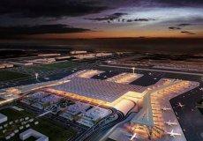Строительство третьего Международного Стамбульского аэропорта ведется в ускоренных темпах.