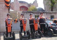 На чем ездит туристическая полиция в Турции?