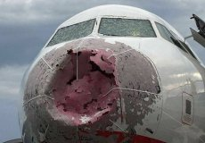 В Стамбуле во время шторма экипаж посадил самолет вслепую
