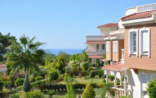 Виллы с видом на море в Алании Инжекум. Недвижимость в Алании - 3