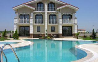 Сдвоенные виллы в Белеке. Недвижимость в Турции