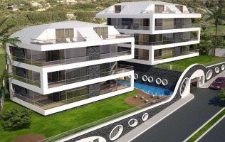 Элитные квартиры в Алании с видом на море и крепость. Новый эксклюзивный проект