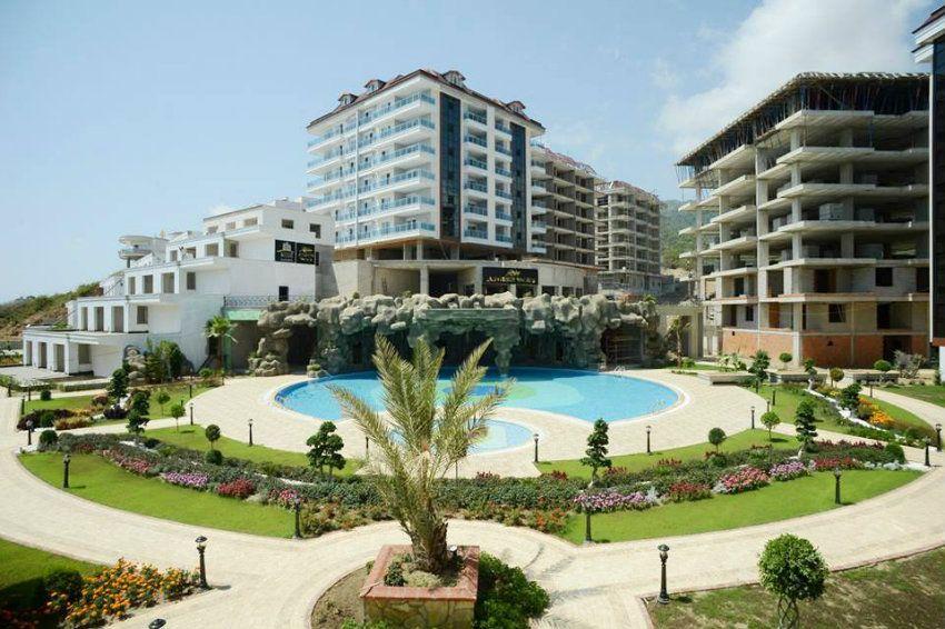 luxury apartment complex. New Prestigious Residential Complex In Alanya Oba  Luxury Apartments And Penthouses For Sale