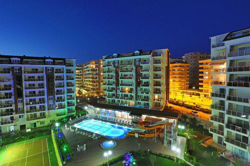 Роскошный жилой комплекс Сады Орион с собственным пляжем, рассрочка платежа, Аланья