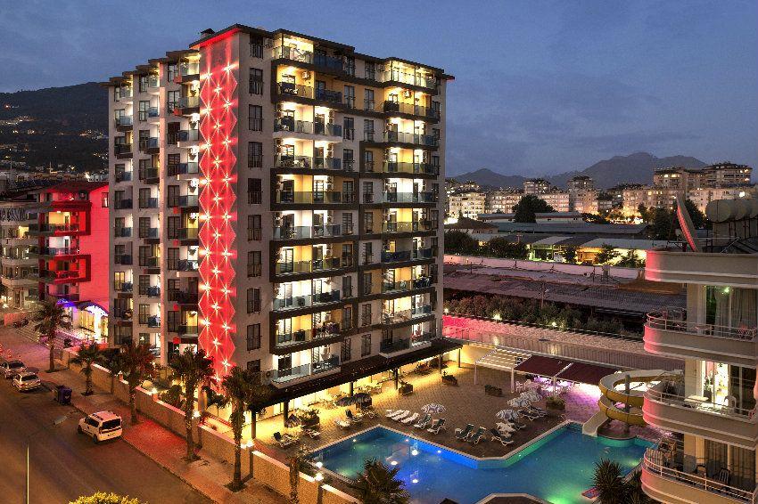 Новый современный жилой комплекс в самом центре города Аланья