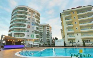 Недорогие Квартиры в Алании! Новый проект в Авсалларе с частным пляжным клубом