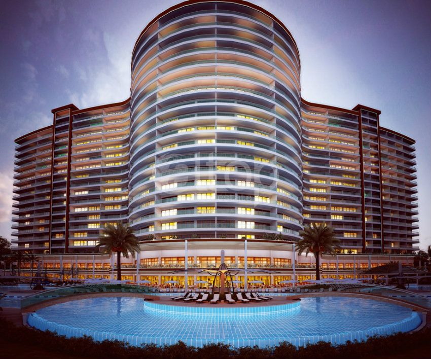 New luxury residential complex in alanya mahmutlar for Luxury hotel project