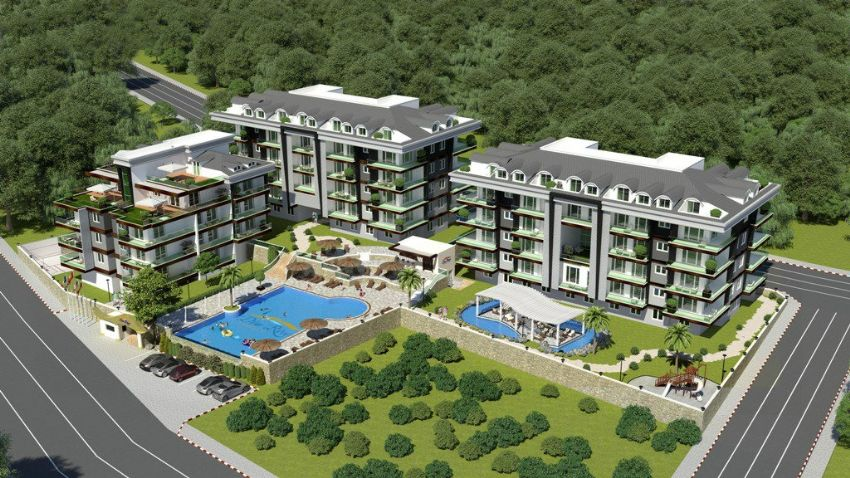 Only until April 15, 15% discount on any apartment in a new complex in Kestel
