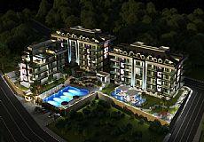 Квартиры на продажу в современном комплексе в Алании возле реки Dimçay, Кестель - 4
