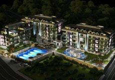 Квартиры на продажу в современном комплексе в Алании возле реки Dimçay, Кестель - 5