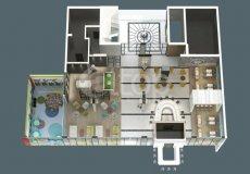 Квартиры в роскошном жилом комплексе в Алании, Тосмур - 43