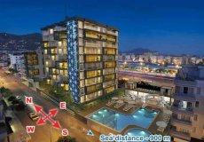 Аренда квартиры в центре города Аланья, резиденция Granada city - 1