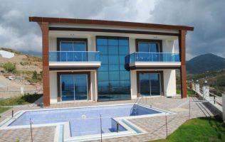 Всего пять дизайнерских вилл-дублексов с панорамным видом, Каргыджак, Аланья