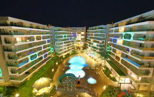 Аренда квартиры с видом на море в роскошном комплексе Эмеральд Парк, Авсаллар, Аланья