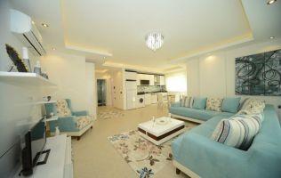 Большая квартира с одной спальней в новом доме, Махмутлар, Аланья