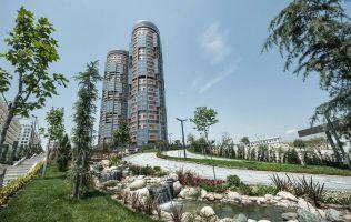 Завершенный проект в престижном районе, квартиры с видом на море, рассрочка до 3 лет, Атакент, Стамбул