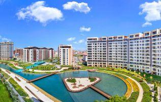 Готовый современный комплекс с озером, азиатская часть, Султанбейли, Стамбул