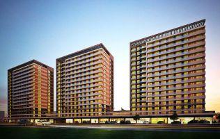 Новый проект с концепцией апартаменты-отель 5*, рассрочка на 3 года, Кючюкчекмедже, Стамбул