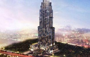 Инвестиционный проект с уникальной архитектурой, рассрочка на 3 года, Эсенюрт, Стамбул