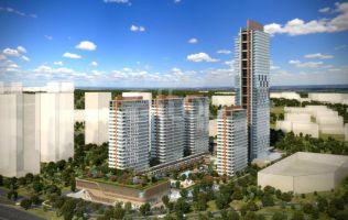 Инвестиционный комплекс в центре города, квартиры и домашние офисы, Эсенюрт, Стамбул