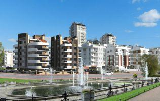 Недорогая недвижимость в Анталье, новый комплекс в районе Коньяалты