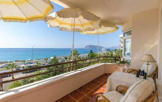 Недвижимость в Турции с видом на море, квартира 2+1 с мебелью, Тосмур, Турция