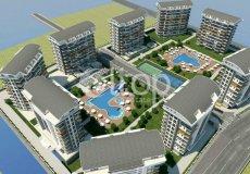 Новый комплекс концепции отеля 5* в Авсалларе. Квартиры в Турции с видом на море - 3