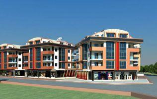 Новый современный жилой комплекс в районе Оба