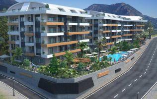 Элитные квартиры в новом престижном строящемся комплексе, Оба, Аланья