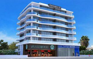 Элитные квартиры в новом строящемся комплексе в Кирения, Северный Кипр
