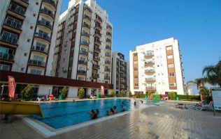Апартаменты в современном комплексе на берегу моря в Фамагуста, Северный Кипр.