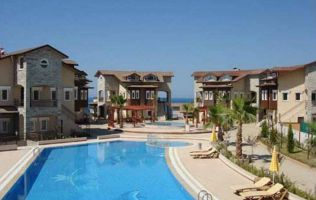 Недорогая квартира 1+1 с видом на море и горы в Авсалларе, Аланья