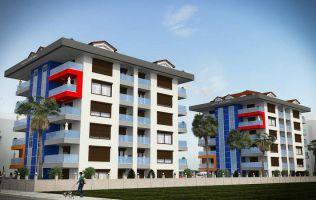 Совершенно новый выгодный проект в районе Кестель на берегу Средиземного моря