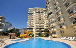 Просторная и светлая квартира 2+1 в 150 м от пляжа в р.Махмутлар г.Аланья