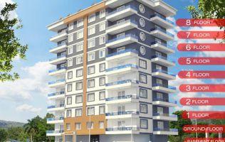 Новый проект в Алании р.Махмутлар! Приятные цены и всего 400 м от моря
