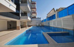 Новая квартира в центре Алании, рядом с пляжем Клеопатры