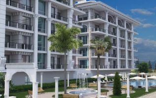 Новый жилой комплекс в 200 м от моря в Алании р.Каргыджак